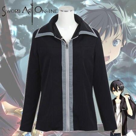 Sword Art Online Kirito Kazuto Kirigaya Cosplay Costume Anime Sword Art Online Jacket mens coat hoodies