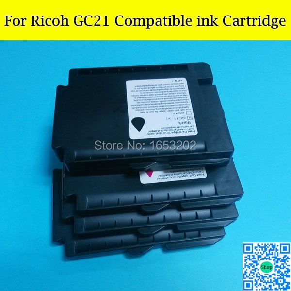 10 Set GC21 Empty Compatible Ink Cartridges For Ricoh For Ricoh GX2050 GX3050 GX7000 GX5000 GX3000 GX2500 Printer