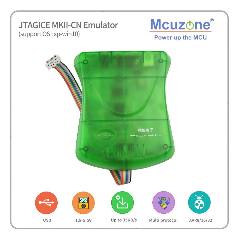 USB AVR JTAGICE MKII CN эмулятор бесплатно ATXMEGA32D4 мини-плата (1 шт. на заказ)
