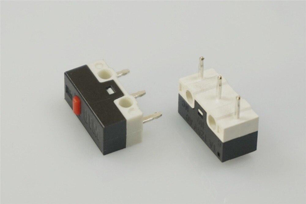 1000pcs DM Tiny Micro Switch Momentary Push Button Switch 1A 125V 3A 125V 12.8x6.5x5.8 Outline Through Holes PCB 110 GF