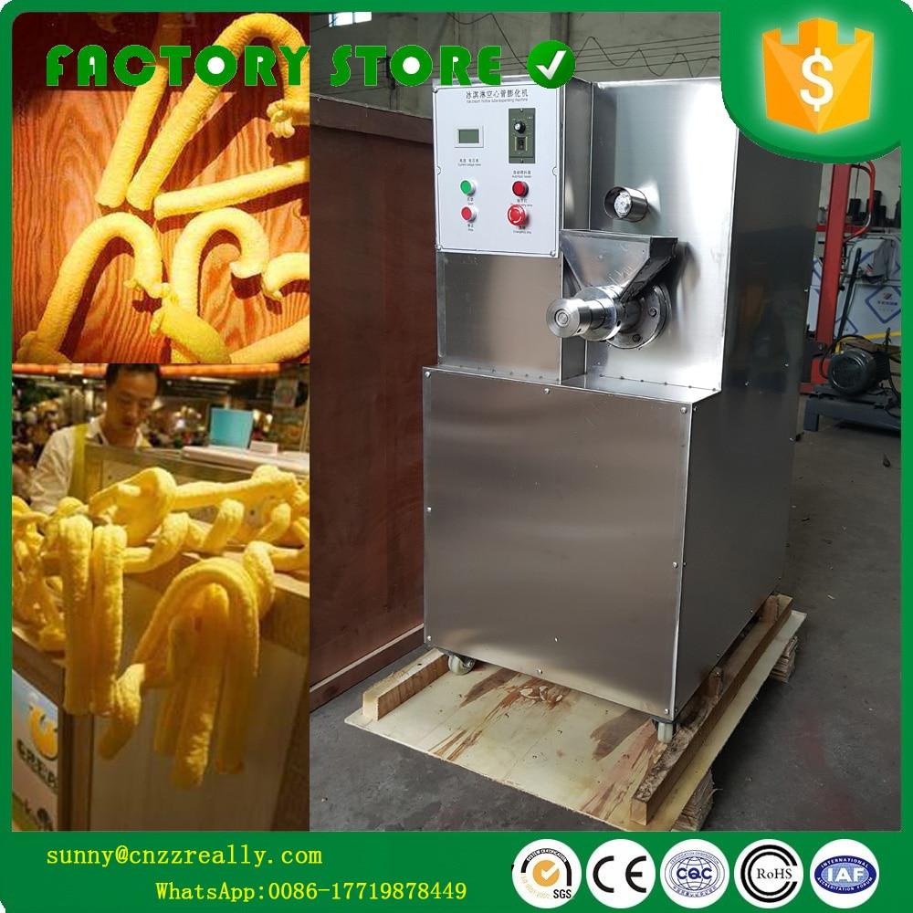 Machine de bouffée de maïs de machine dextrudeuse de maïs de machine de casse-croûte de bâton de maïs de crème glacée