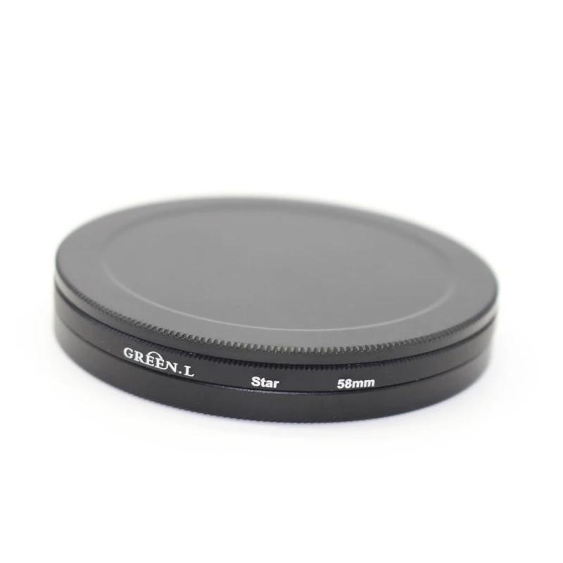 40,5mm 43mm 46mm 49mm 52mm 55mm 58mm 62mm 67mm 72mm 77mm 82mm tornillo en el filtro de protección de tapa de Metal funda del filtro