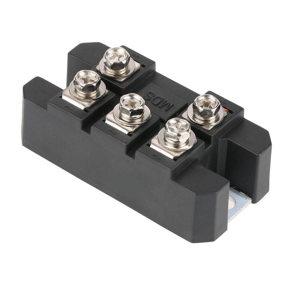 1PC MDS100A 3-Phase Diode Bridge Rectifier Diode Bridge 100A Amp 1600V Caixa De Metal de Cobre 3.1*1.6 * 1.2in Controle Ponte de Diodos