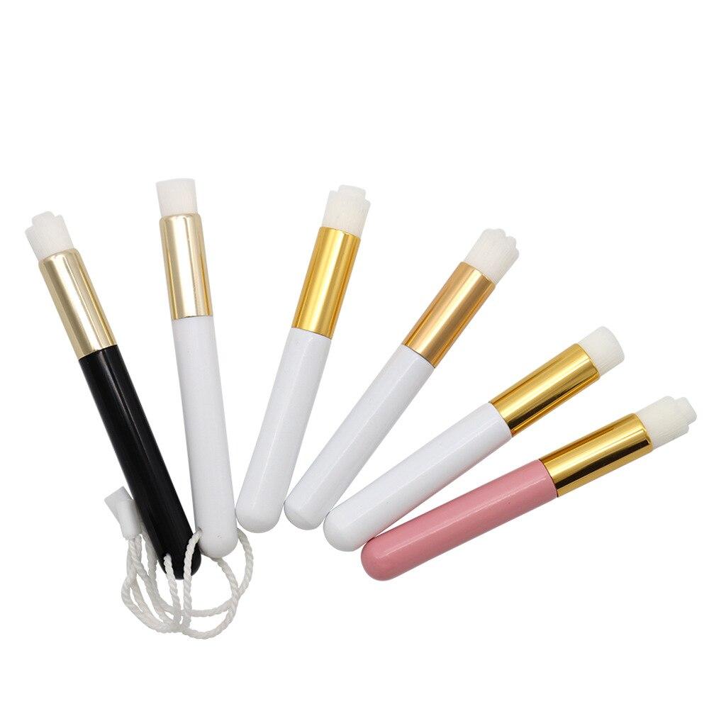 10 unids/pack cepillo de nariz profesional para limpiar la nariz cepillo de espinillas profesional para lavar la nariz artefacto de blanqueamiento herramientas de maquillaje de belleza