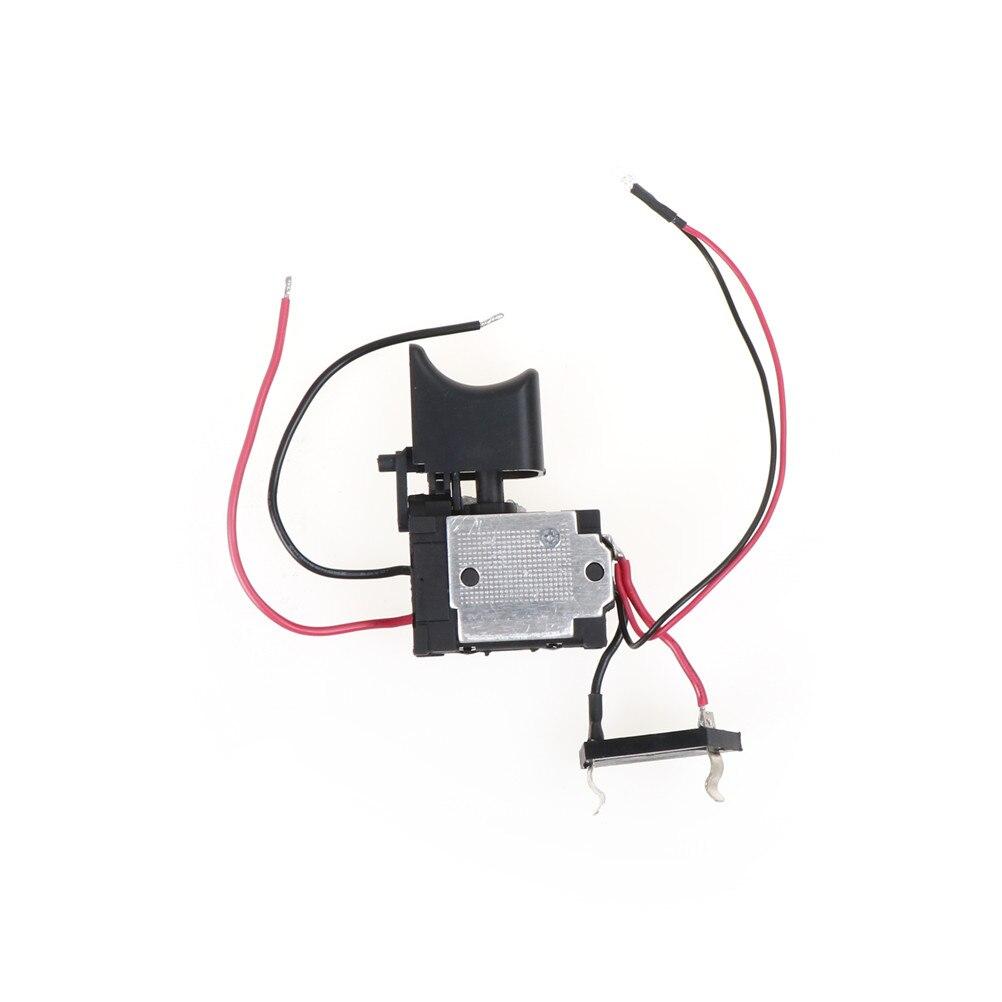 Neue DC Kunststoff Shell Akku-bohrschrauber Trigger Schalter 7,2-24 v 6,5x4x1,2 cm