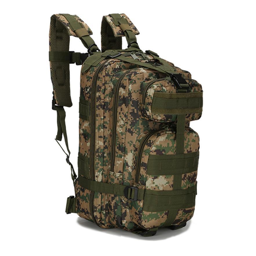 Mochilas mochilas escolares para adolescentes deporte al aire libre camuflaje bolsa de viaje 3P mochilas Camping senderismo mochila de senderismo 16,8
