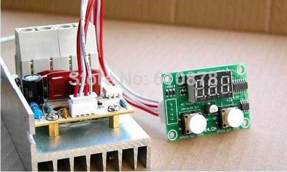 Regulador de voltaje SCR Digital AC 220V 10000W regulador de velocidad termostato de temperatura