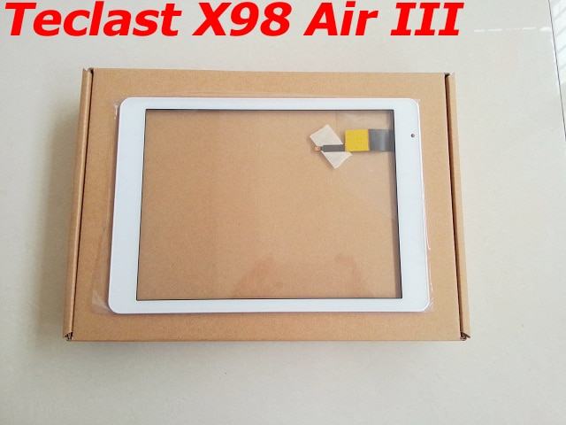¡Nuevo de fábrica! Pantalla táctil de 9,7 pulgadas para Teclast X98 Air III / Air 3, Panel táctil frontal de cristal digitalizador, reemplazo del Panel táctil