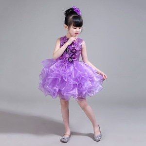 Online Chinese Store Layers Prom Dresses Toddler Glitz Pageant Gowns Children Dancewear Clothing Kids Party Dresses for Girls