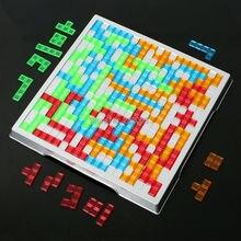 Развивающая игра-головоломка Blokus 2-4, для родителей и детей, настольная игра, английская версия для всей семьи