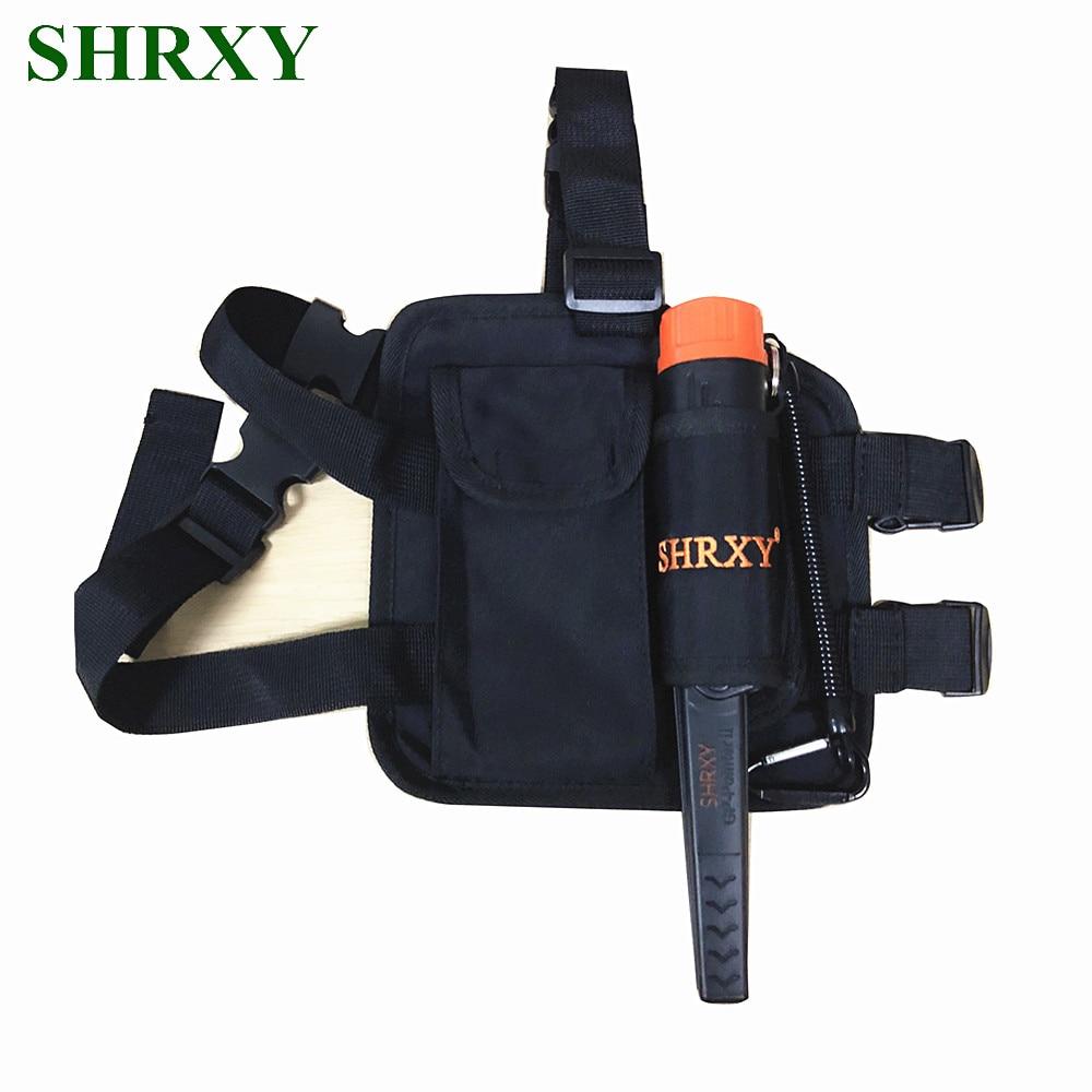SHRXY набор металлоискателей, набор указок, водостойкий ручной металлоискатель с мешочком для ног