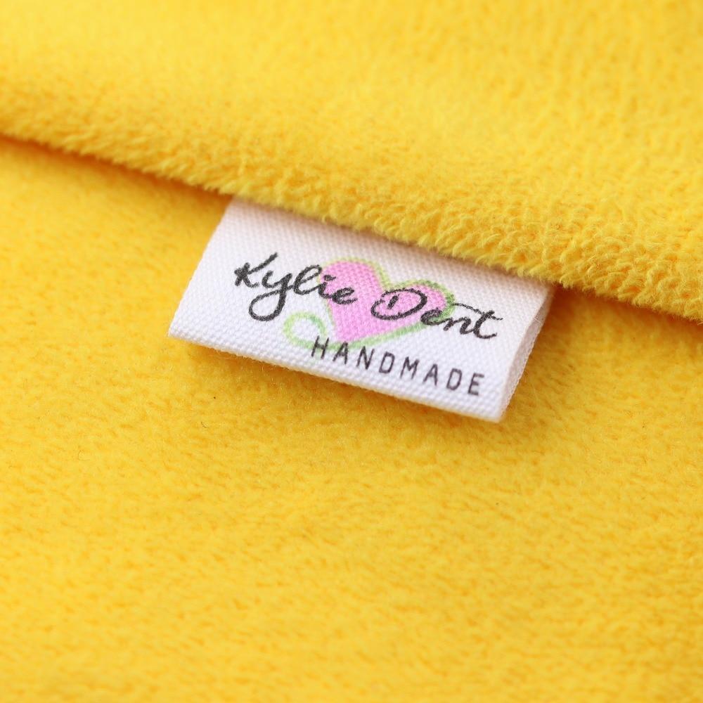 Custom Sewing label, Handmade Tags, Custom kids Name Labels,Cotton Ribbon labels, Logo Labels(MD0011)