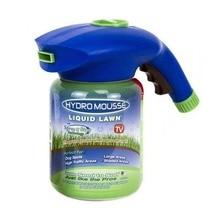 Dispositif de pulvérisation liquide de système de semis hydraulique de ménage de Mousse hydraulique de pelouse de jardin à la maison professionnel pour des Kits de toilette de soin de pelouse de graine