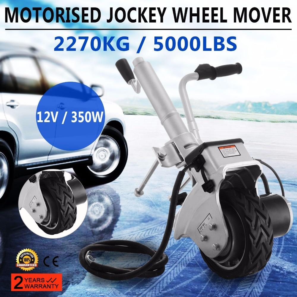 Free shipping Trailer Mover 350W 12V Electric Trailer Jack Max Vehicle Load 5000Lbs Trailer Jockey Wheel Utility Trailer