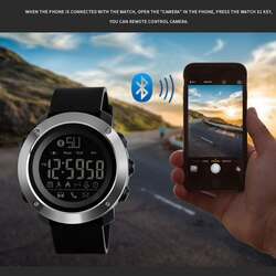 Mulheres SKMEI Homens Relógio Inteligente Pedômetro Smartwatch Digital Para A Apple IOS Android 50 M À Prova D Água Esporte Relógios Reloj inteligente