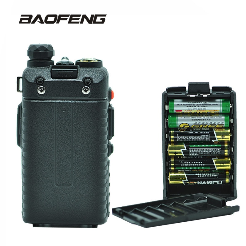 Baofeng UV-5R Battery Case Emergency AAA batteries Shell For UV 5R UV-5RE 5RA Radio Power Supply Wal