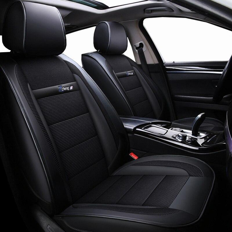 Nova capa de assento do carro couro luxo para chevrolet impala lacetti lanos malibu xl optra orlando silverado 2018 2017 2016 2015
