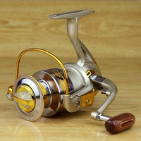 Fishing Spinning Reel EF 1000-7000 Series 12BB Bearing Metal Hand Wheel Ocean Fishing Reels Saltwater
