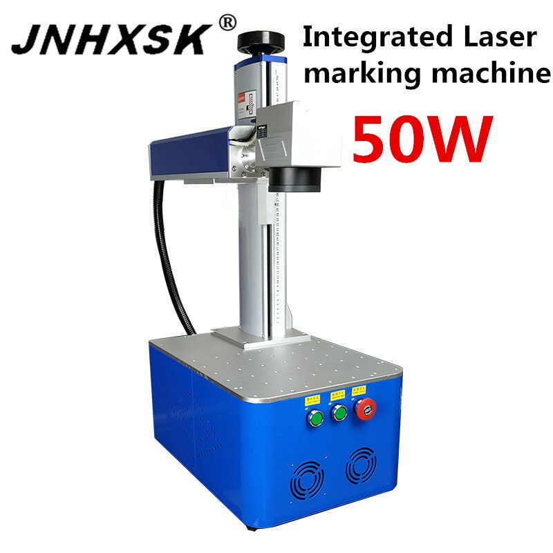 JNHXSK 50 W CO2 110 v/220 v integrado láser máquina de marcado con maxphotonics fuente láser interfaz USB 2,0 grabador CNC CO2