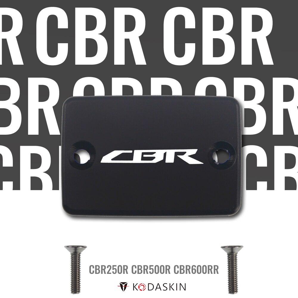 Tapa de depósito de líquido de frenos de aluminio KODASKIN MOTO CNC para Honda CBR250R CBR500R CBR600RR