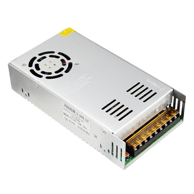 Оригинальный источник питания 12 В 30A 360 Вт с зарядным кабелем для ISDT SC-608 Q6 Plus Q6 LITE UNA6 UNA9 зарядное устройство