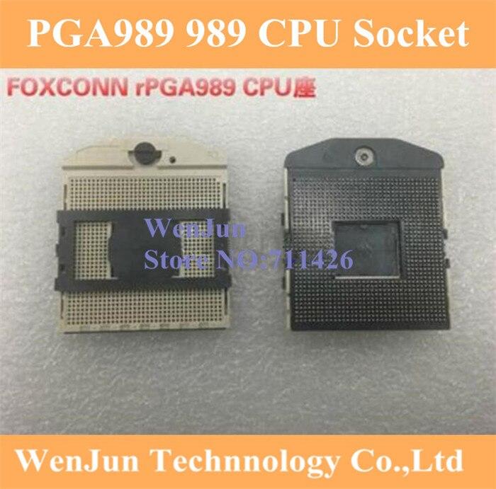 Zócalo de alta calidad rPGA 989 RPGA-989 Base del conector de la CPU Base 10 unids/lote