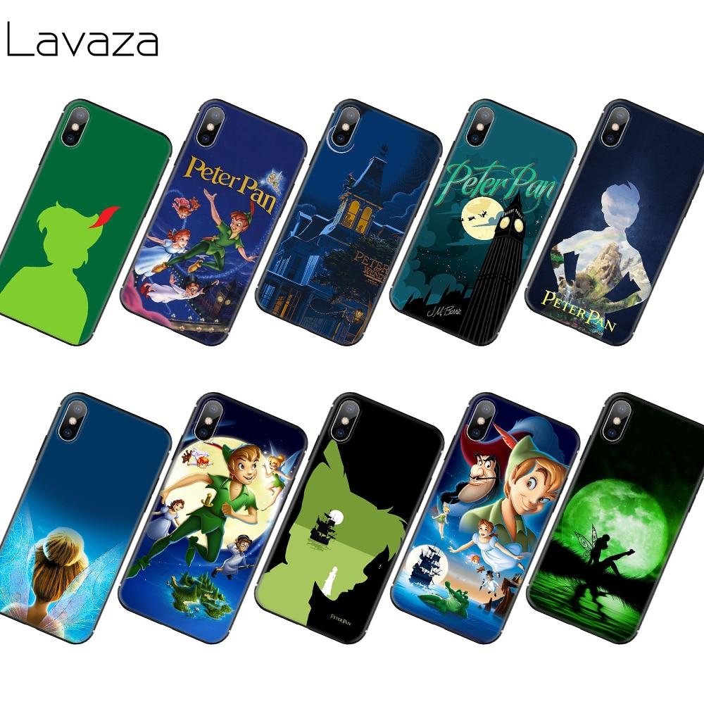 Мягкий ТПУ чехол Lavaza Peter Pan Wendy Tinkerbell для iPhone 11 Pro XS Max XR X 8 7 6 6S Plus 5 5S SE
