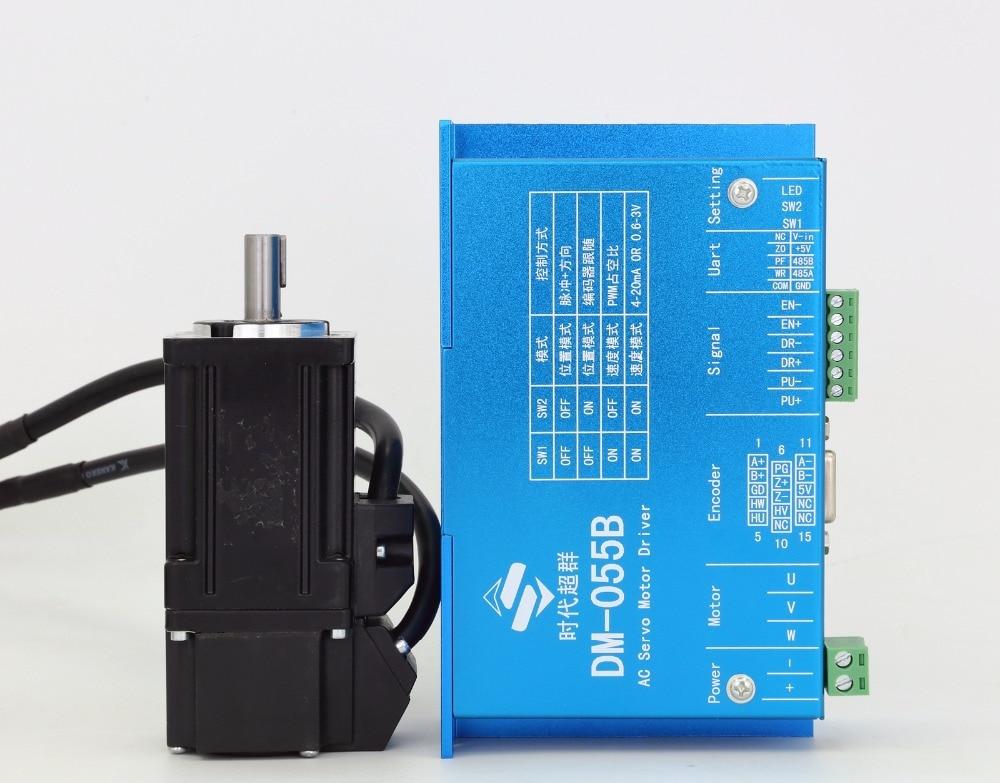60mm Flange AC servo motor package (Servo Motor + Driver) 48 V 1.27NM 400W 3000rpm