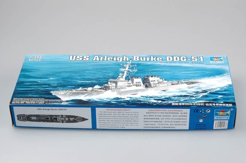 Trompetista 04523 1/350 USS Arleigh Burke DDG-51Model Kit