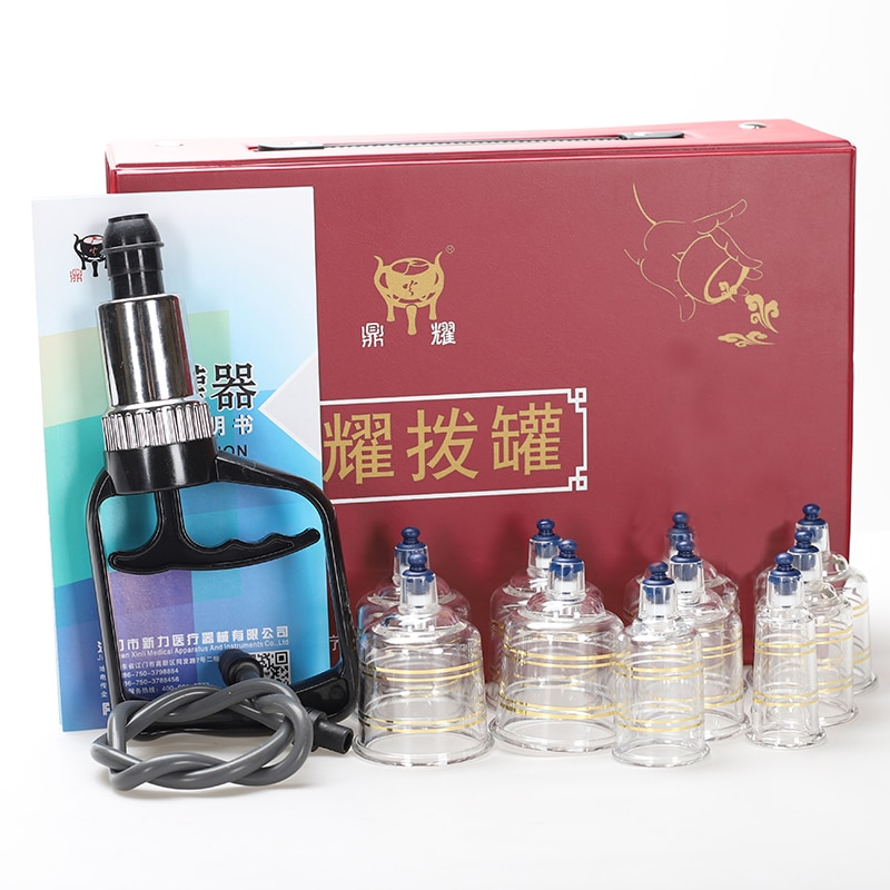 Tazas de la succión masaje ahuecamiento frascos de acupuntura de vacío ahuecando frasco de vacío de plástico masajeador terapia ventosa ventosas tonto