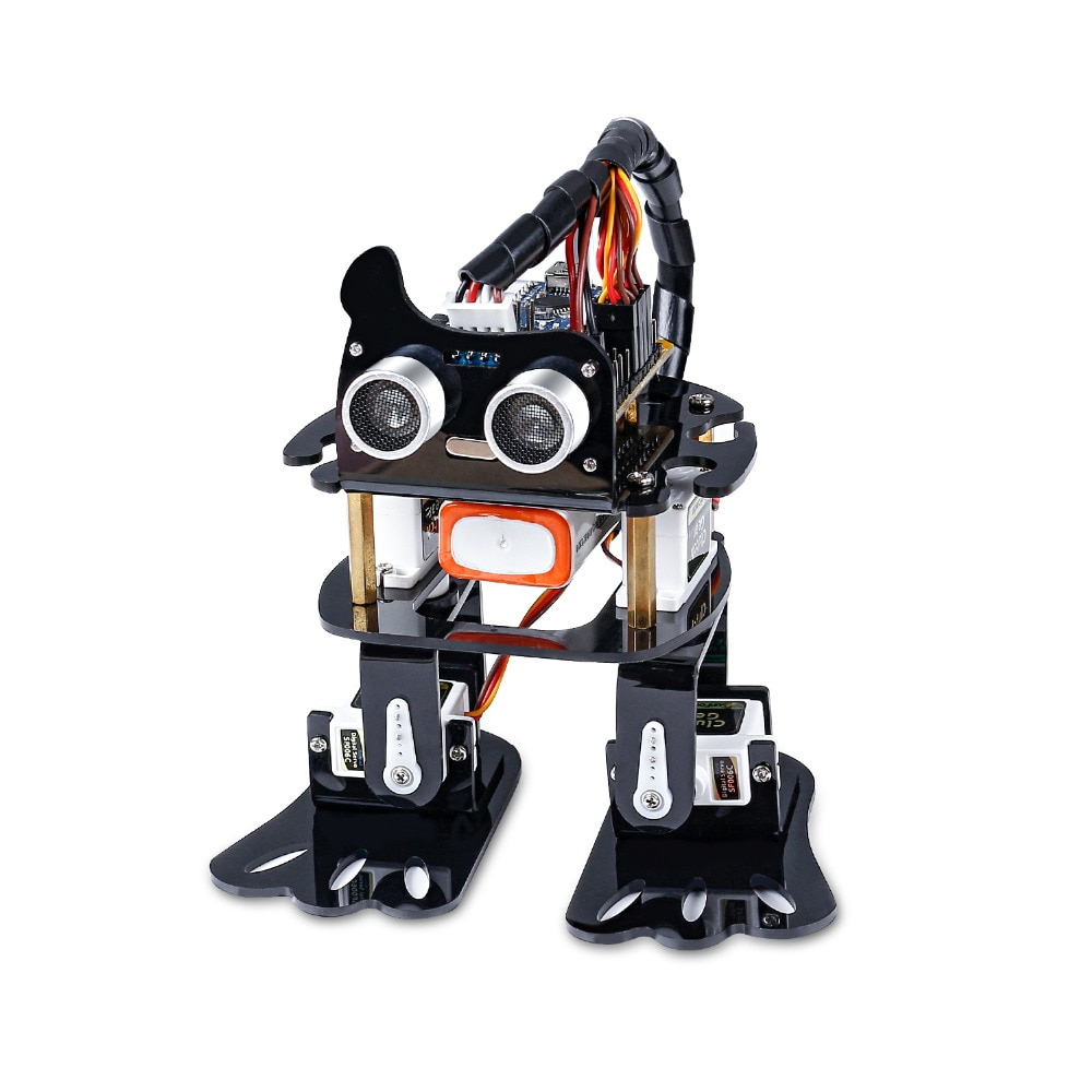 SunFounder DIY 4-DOF Roboter Kit-Sloth Learning Kit für Arduino Nano DIY Roboter
