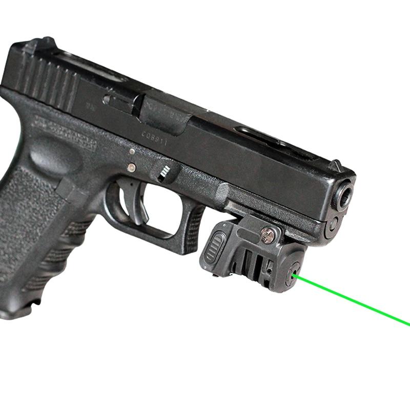 Dropshipping LS-L8 serie FRN PA66 militar recargable pistola walther p22 láser verde vista