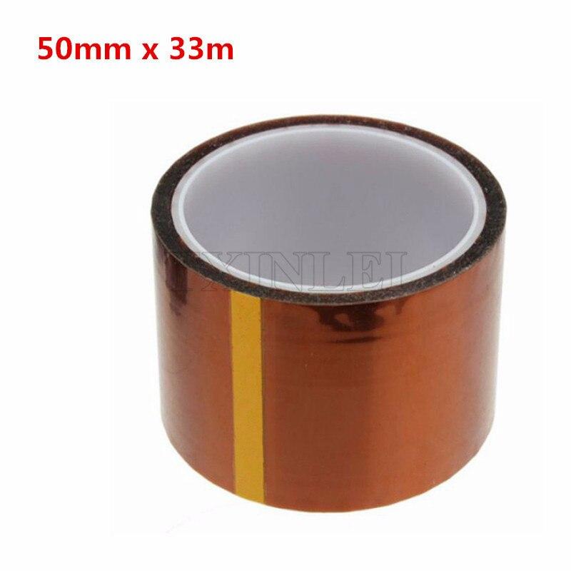 50 ملليمتر × 33 متر شريط لاصق ارتفاع درجة الحرارة بغا أصحر بوليميد بالحرارة
