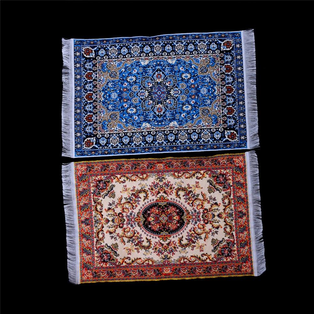 1/12 1:12 Casa De muñecas Mini alfombra Mat 1:12 miniatura Casa De...