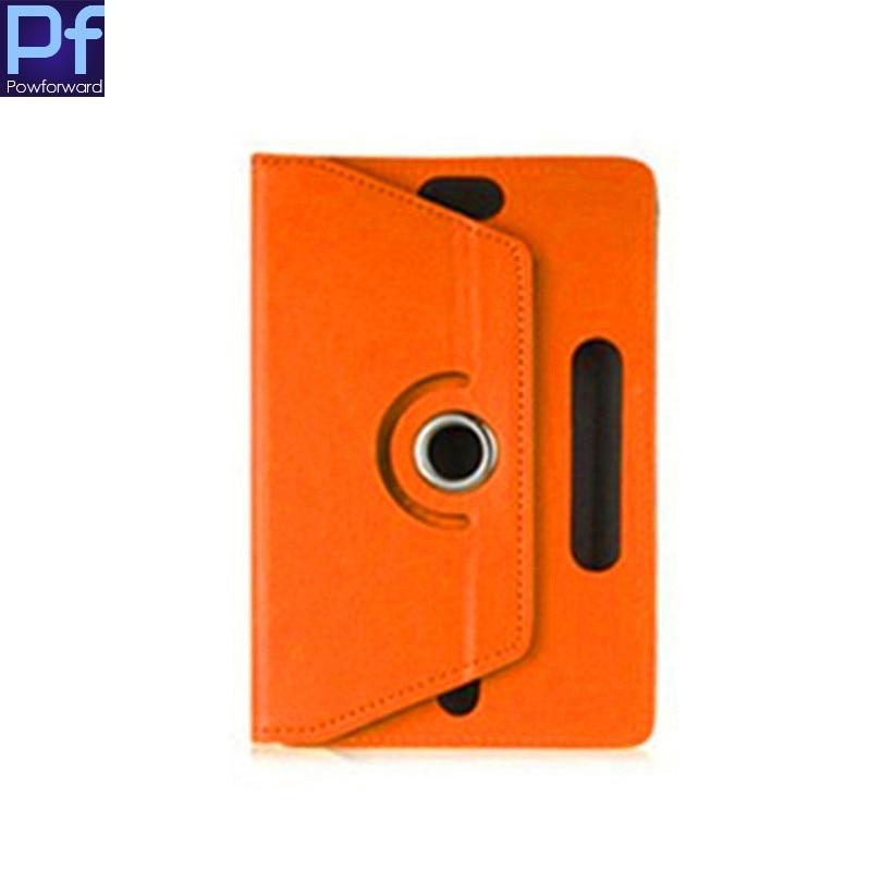 Para iRU B712G/M704G/M705G/M708G 7 pulgadas giratorio 360 grados Universal Tablet PU Funda de cuero gratis OTG