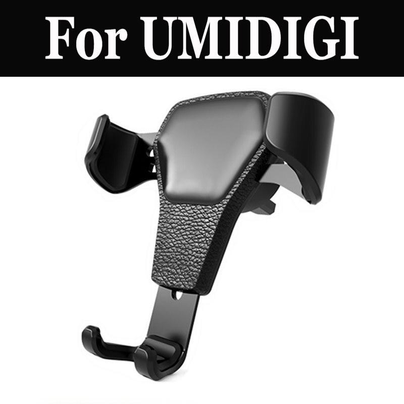 Soporte de gravedad para coche, soporte para teléfono móvil para UMIDIGI G C Note 2 Crystal C2 Z1 Pro S Z1 A1 Pro A3 One Pro Max Z2 Pro