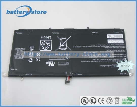 Nuevas baterías originales para ordenador portátil 734746-421, Spectre 13-3000,734998-001,13 t-3000, HSTNN-LB50, RG04051XL, RG04XL, 7,4 V, 6 celdas
