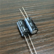 10pcs 820uF 25V Japan NICHICON HV Series 10x20mm High Ripple Current Low Impedance 25V820uF Aluminum Electrolytic Capacitor