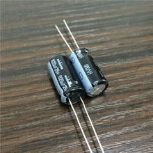 10 pièces 820uF 25V japon NICHICON HV série 10x20mm haute ondulation courant faible impédance 25V820uF condensateur électrolytique en aluminium
