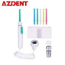 AZDENT 6 buses robinet Oral irrigateur eau dentaire Jet Flosser eau Irrigation choisir fil dentaire prothèse dentaire dents nettoyage