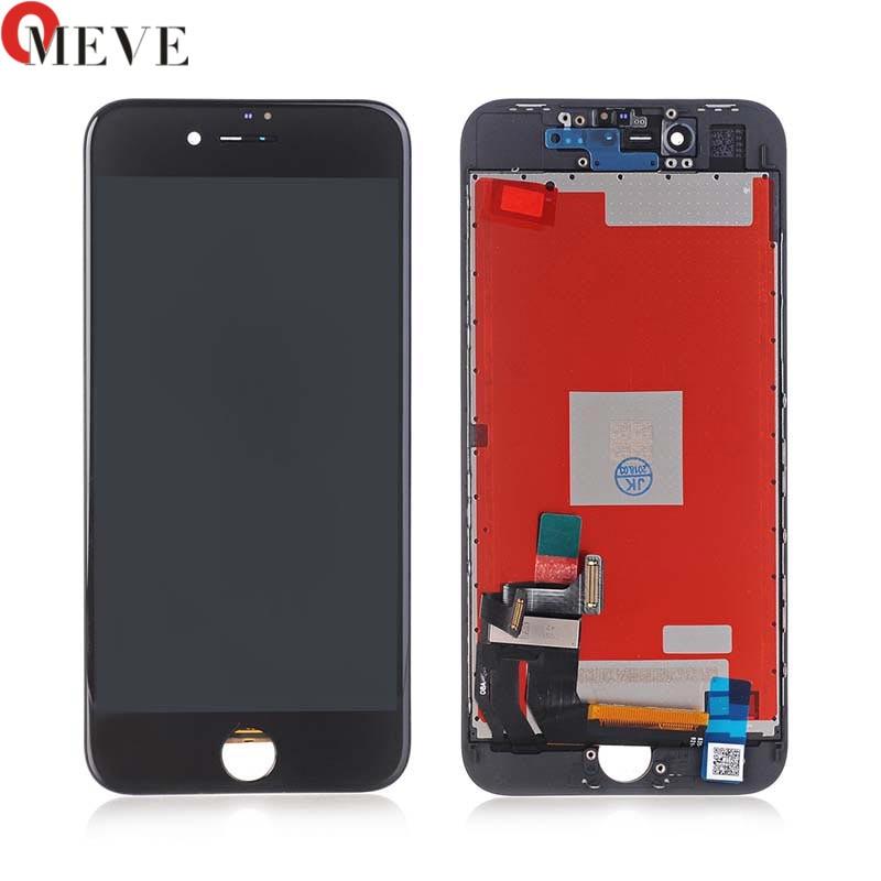 5 pcs AAA Tianma Para iphone 8 Tela LCD Para Tianma Qualidade Tela de toque 3D Com Display Touch 4.7 Para iphone 8G LCD montagem