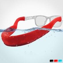Chaîne à lunettes de natation, chaîne de flexibilité flottante, pour plongée, lunettes de soleil, corde de support