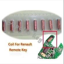 Bobine de transpondeur pour clé Renault 5 pièces/lot   Réparation de clé de Super charge, bobine dinductance de transformateur pour clé à distance