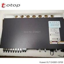 Huawei GPON OLT EA5801-GP08 8 * GPON, 2 * 10GE/GE, 2 * obsługi GE (8 sztuk klasy B + moduły) z podwójnym AC moc i kable zasilające, mini rozmiar