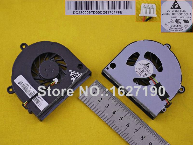 New Laptop Cooling  Fan For TOSHIBA Satellite P775 (3Pin) PN:KSB06105HB DC280009UD0(DC05V 0.40A) MF60090V1-C262