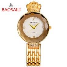 Nouveau style brillant diamant luxe montres en acier inoxydable Montre pour femmes dames analogique Quartz horloge Ceasuri Montre Femme