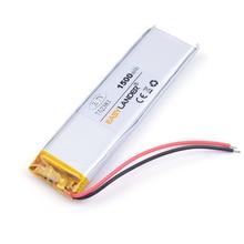 752383 3.7 V lithium polymer battery 1500 mah DIY mobile emergency power charging treasure battery E-book tablet pc power bank