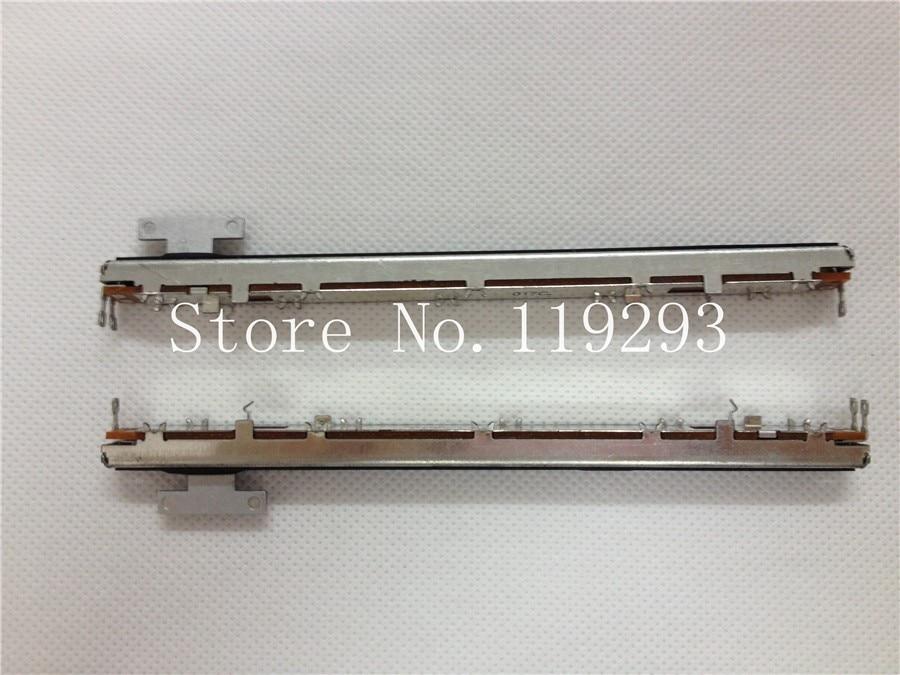 [BELLA] جديدة ومبتكرة اليابانية الألب 12.8 سنتيمتر خلاط صغير fader الشريحة الجهد D10K-8T مقبض-10 قطعة/الوحدة