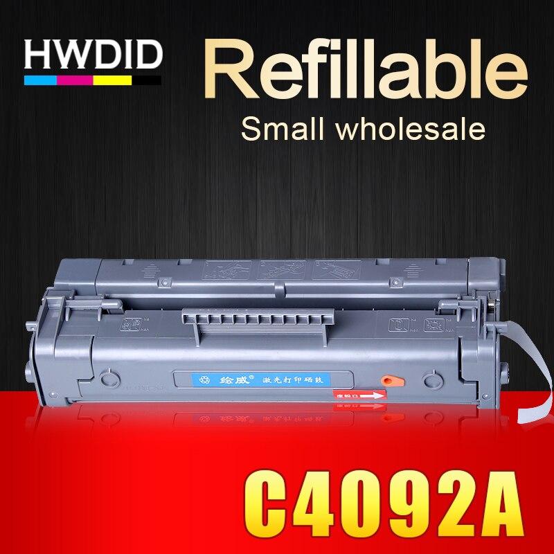 HWDID C4092A 4092a 4092 92a EP-22 compatible cartucho de tóner para HP 1100 1100a 1100se 1100xi 1100a xi 3200 3200se 3200ase 3200m
