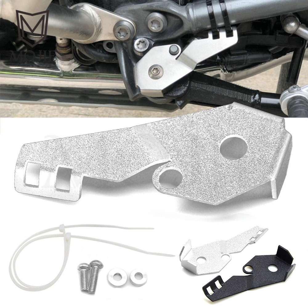 Para bmw r1200gs lc r1200 gs lc aventura adv 2014-2017 motocicleta suporte lateral guarda interruptor protetor capa de metal